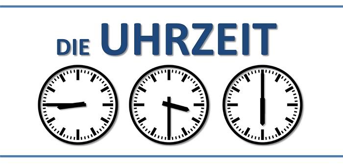 orele si timul in limba germana